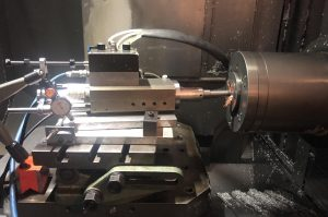Havari på værktøjsmaskine og konusslibning
