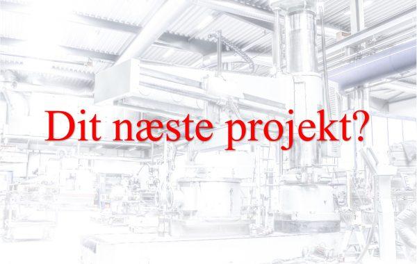 Maskin tegning - projekt