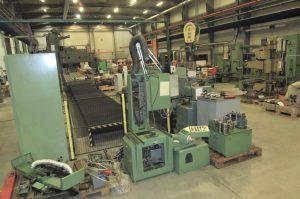 Renovation of SJ824 surface grinder