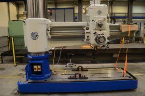 Renovering af radialboremaskine