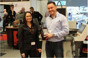 Tillykke til Morten Brink fra Bila A/S som blev fredagens vinder.